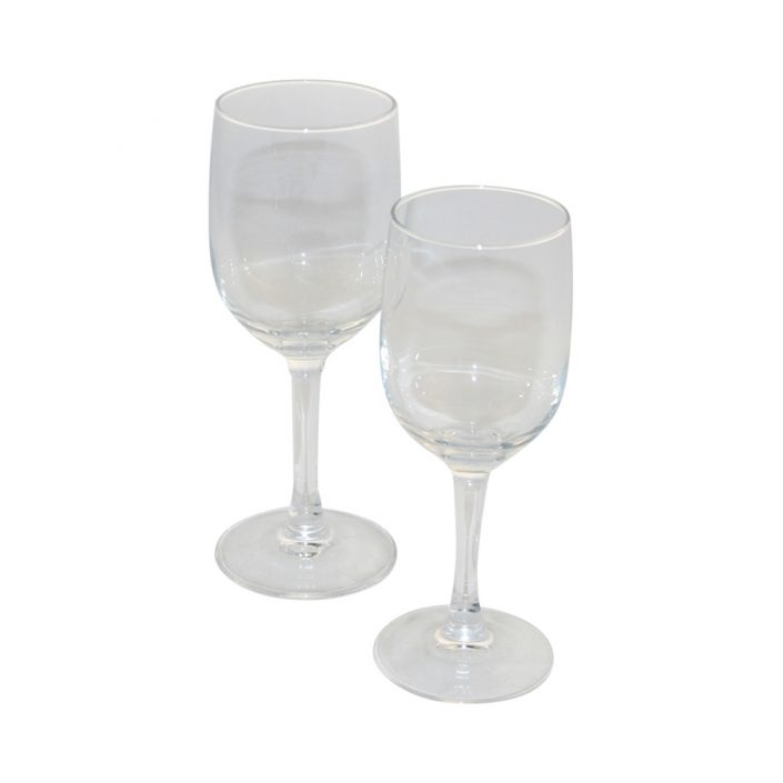 image of 2 wine glasses