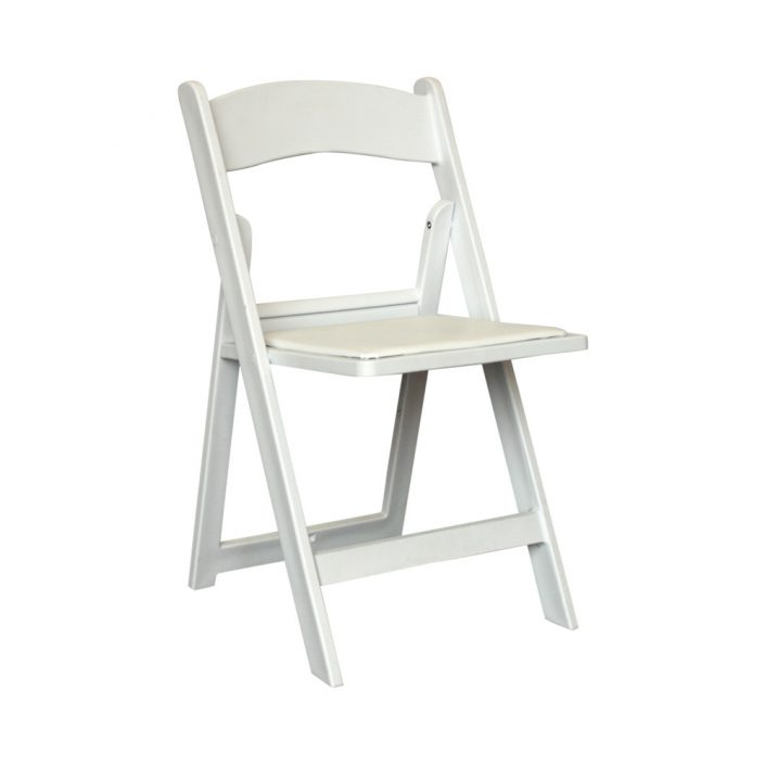 image of a white chair