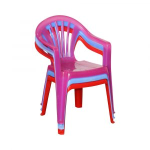 image of coured kids chairs