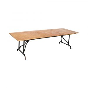 image of a wooden table