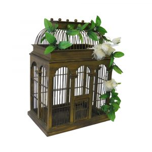 image of a bird cage party accessory for hire